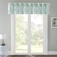Regency Heights Mariposa 17-Inch Window Valance in Mint
