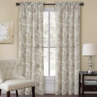 Homewear Linens Engelton 108-Inch Rod Pocket Window Curtain Panel in Natural