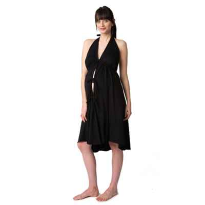 Pretty Pushers® Labor Gown in Black