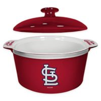 MLB St. Louis Cardinals Sculpted Game Time Oven Bowl