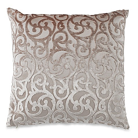 Throw Pillows Taupe : Gateway Square Throw Pillow in Taupe - Bed Bath & Beyond