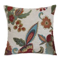 Society Throw Pillow in Blossom