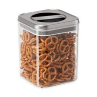 Oggi™ Twist and Store 54 oz. Canister in Stainless Steel