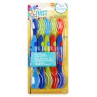The First Years™ Two Scoops™ 5-Pack Infant Spoons in Blue/Green/Red