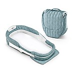 Baby Delight® Snuggle Nest® Surround  Portable Infant Sleeper in Sea Green Rings