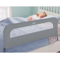 Home Safe By Summer Infant® Extra Long Folding Bed Rail in Grey