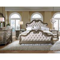 Pulaski Arabella 4-Piece Queen Bedroom Set in Grey/Brown