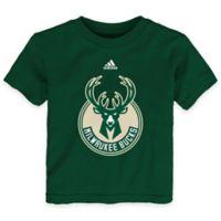 NBA Milwaukee Bucks Size 3T Short Sleeve Shirt in Green