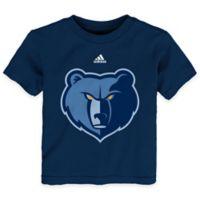 NBA Size 3T Memphis Grizzlies Short Sleeve Shirt in Navy Blue