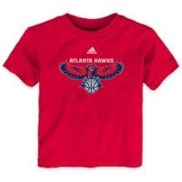 NBA Atlanta Hawks Size 2T Short Sleeve Shirt in Red
