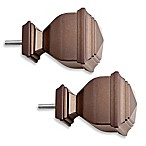 Cambria® Premier Complete Napoleon Finial in Toffee (Set of 2)