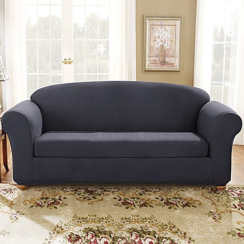 Sure Fit 174 Stretch Suede Slipcover Bed Bath Amp Beyond
