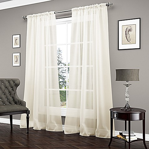 Vue Carrington Sheer Window Curtain Panel Bed Bath Beyond