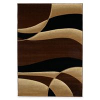United Weavers Contours Avalon 1-Foot 10-Inch x 2-Foot 8-Inch Accent Rug in Toffee