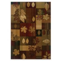United Weavers Contours Autumn Bliss 5-Foot 3-Inch x 7-Foot 6-Inch Area Rug in Multi
