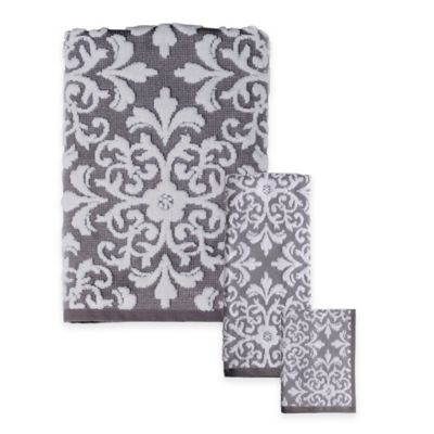 Buy Gray Bath Towels From Bed Bath Amp Beyond