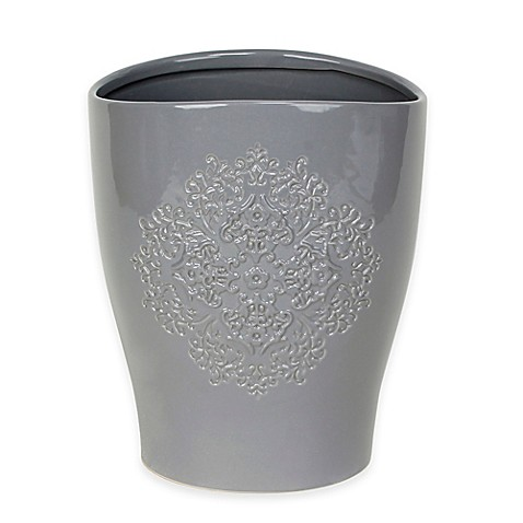 Benito wastebasket bed bath beyond - Elegant wastebasket ...
