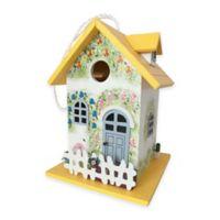 Home Bazaar Flower Cottage Birdhouse