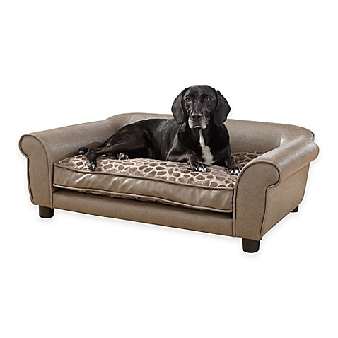 Enchanted Home Pet Rockwell Sofa Bed in Pewter Bed Bath