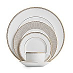 Waterford® Lismore Diamond Gold 5-Piece Place Setting