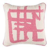 Surya Muzzicon 20-Inch Abstract Throw Pillow in Hot Pink