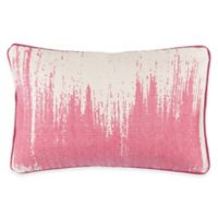 Surya Gruyeres 22-Inch x 14-Inch Abstract Throw Pillow in Hot Pink