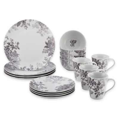 Buy corelle kyoto leaves 16 piece dinnerware set from bed - Bed bath and beyond palm beach gardens ...