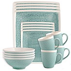 Sango Vega 16-Piece Dinnerware Set in Aqua