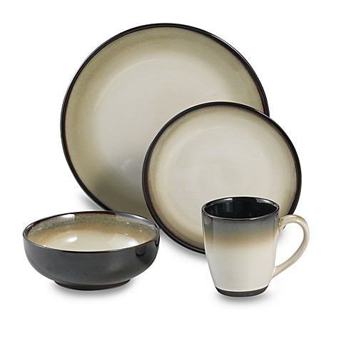 Nova Black Dinnerware by Sango  sc 1 st  Bed Bath \u0026 Beyond & Nova Black Dinnerware by Sango - Bed Bath \u0026 Beyond