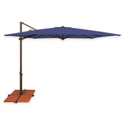 SimplyShade® Skye 8 Foot 6 Inch Square Cantilever Aluminum Umbrella In Sky  Blue