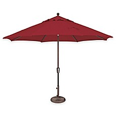 SimplyShade® Catalina 11-Foot Push Button Tilt Octagon Aluminum Solefin Umbrella