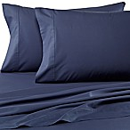 Wamsutta® Dream Zone® Percale 500-Thread-Count Queen Sheet Set in Denim