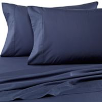 Wamsutta® Dream Zone® Percale 500-Thread-Count King Pillowcases in Denim (Set of 2)