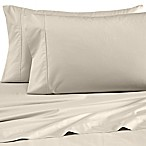 Wamsutta® Dream Zone® Percale 500-Thread-Count King Sheet Set in Taupe