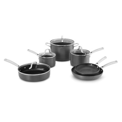 calphalon classic nonstick 10piece cookware set