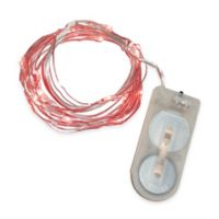 20-Count Battery Operated Mini LED String Lights in Red (Set of 3)