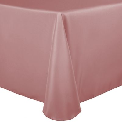 Buy Basic Polyester 54 Inch Sq Tablecloth In Dusty Rose