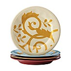 Rachael Ray™ Gold Scroll Salad Plates (Set of 4)