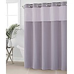 Hookless® Waffle 71-Inch x 74-Inch Fabric Shower Curtain in Lilac