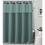 Hookless® Waffle 71-Inch x 86-Inch Fabric Shower Curtain in Teal