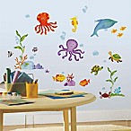 York Wallcoverings Adventures Under the Sea Peel and Stick Wall Decals