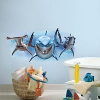 "RoomMates Disney® ""Finding Nemo"" Sharks Peel and Stick Giant Wall Decal"