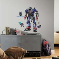 "RoomMates Hasbro ""Transformer: Age of Extinction"" Optimus Prime Peel and Stick Giant Wall Decals"