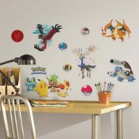 York Wallcoverings XY Pokémon Peel and Stick Wall Decals (Set of 22)
