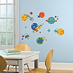 York Wallcoverings Planets and Rockets Peel and Stick Wall Decals