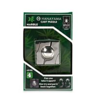 Hanayama Level 4 Marble Cast Puzzle