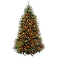 National Tree 7.5-Foot Dunhill Fir Pre-Lit Christmas Tree with Multicolor Lights