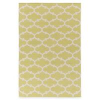 Artist Weavers Vogue Lola 2-Foot x 3-Foot Accent Rug in Yellow