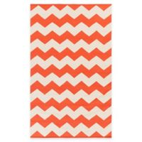 Artist Weavers Vogue Collins 2-Foot x 3-Foot Accent Rug in Coral