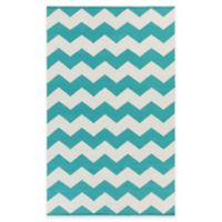 Artist Weavers Vogue Collins 2-Foot x 3-Foot Accent Rug in Teal
